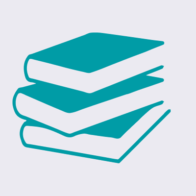 Icon of stacked books