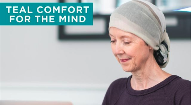 Teal comfort for the mind