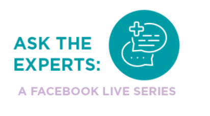 Ask the experts, a Facebook Live series