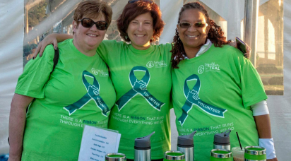 Three NOCC volunteers