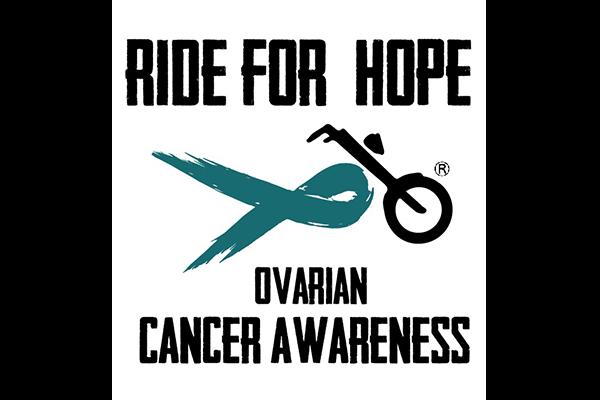 Ride for Hope Ovarian Cancer Awareness logo